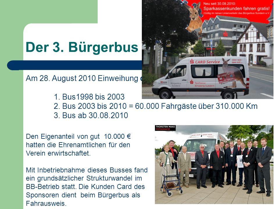 Der 3. Bürgerbus für Sundern
