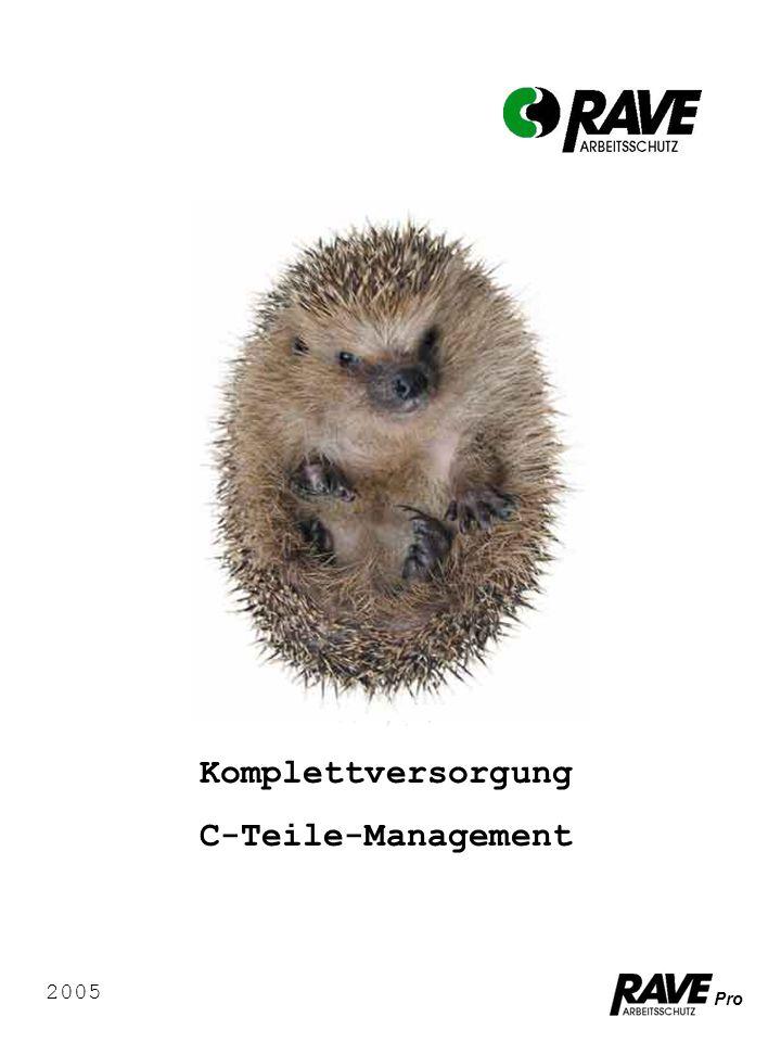 Komplettversorgung C-Teile-Management