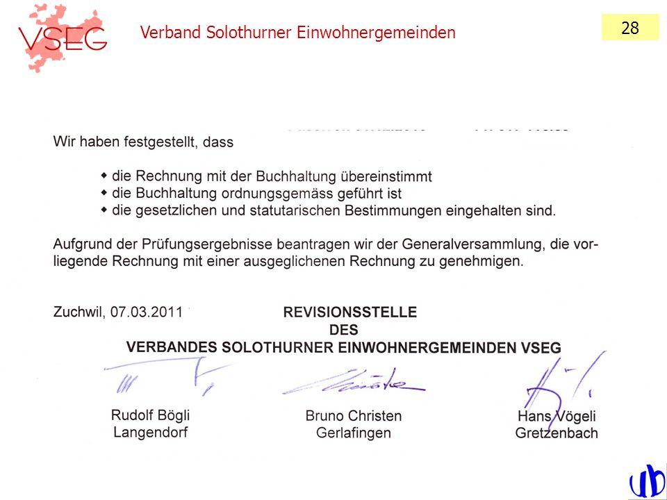 28 Verband Solothurner Einwohnergemeinden