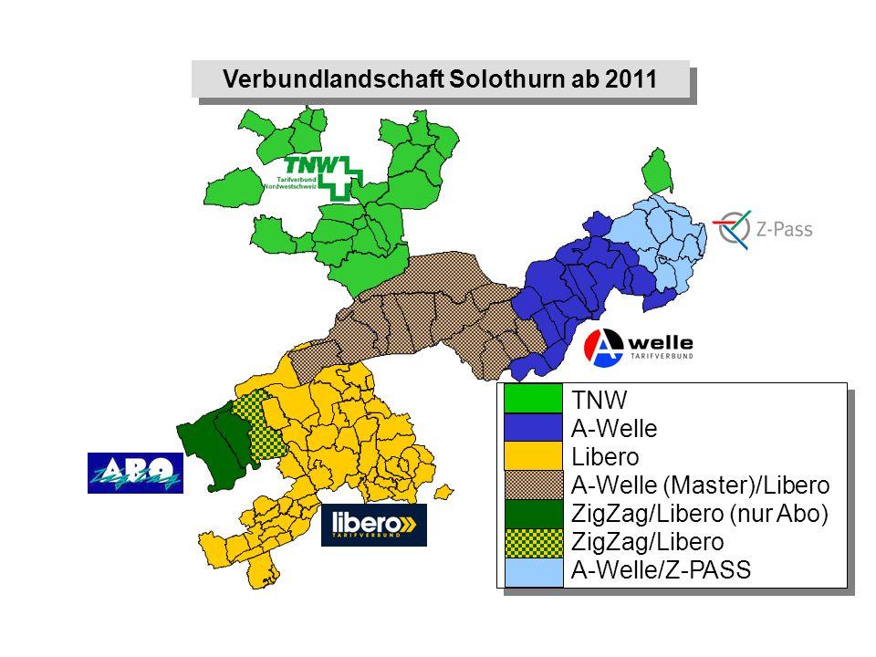 Verbundlandschaft Solothurn ab 2011
