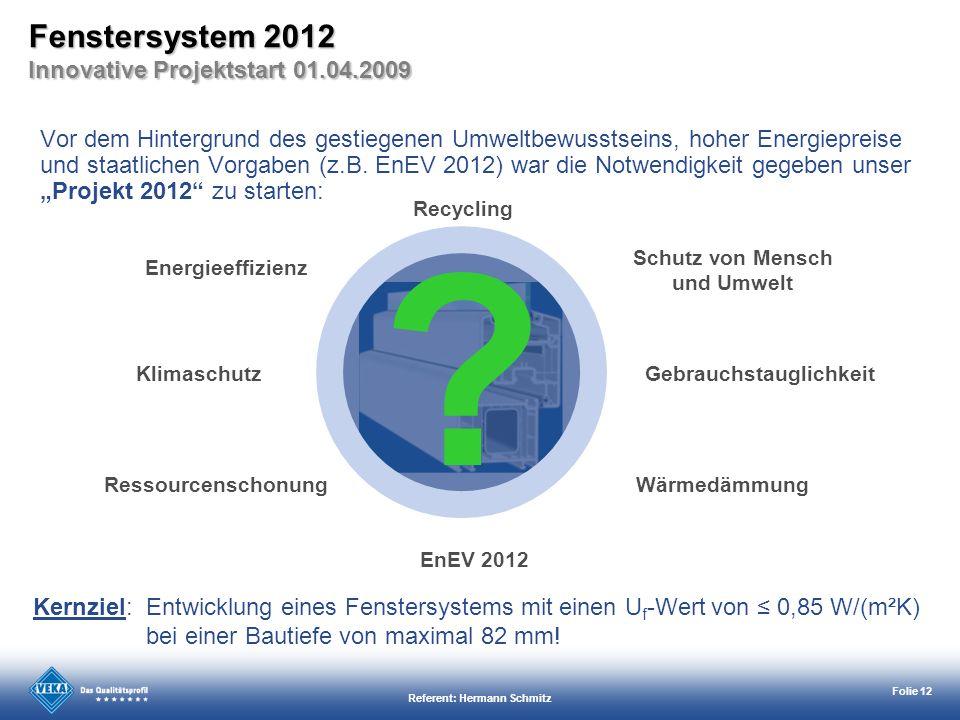 Schutz von Mensch und Umwelt Referent: Hermann Schmitz