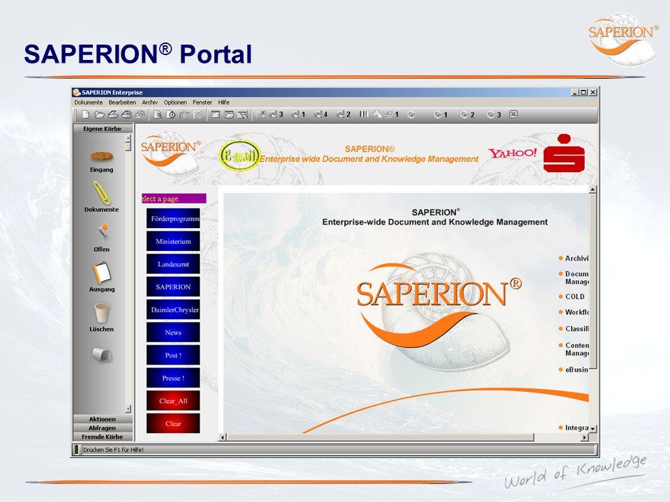 SAPERION® Portal