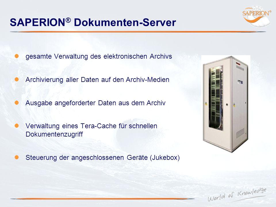 SAPERION® Dokumenten-Server
