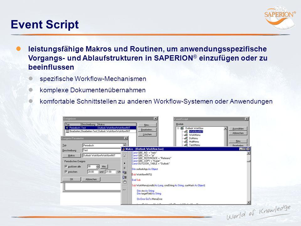 Event Script