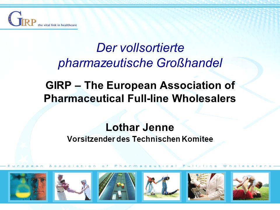 Der vollsortierte pharmazeutische Großhandel