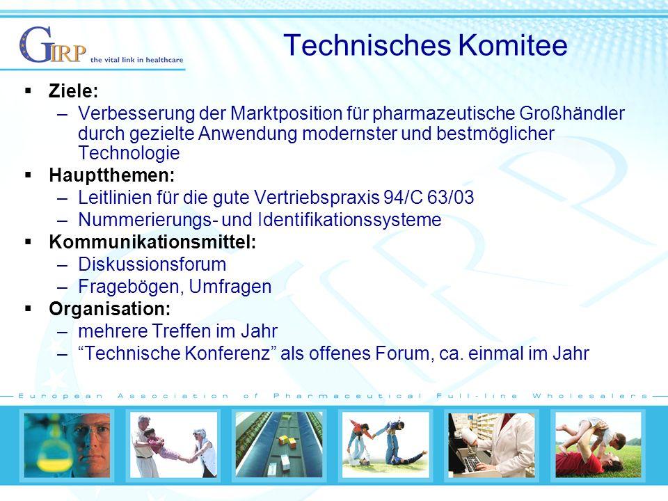 Technisches Komitee Ziele: