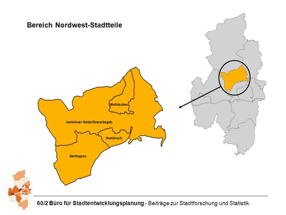 Bereich Nordwest-Stadtteile
