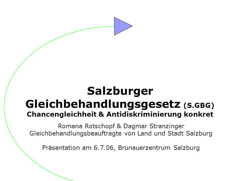 Salzburger Gleichbehandlungsgesetz (S.GBG)