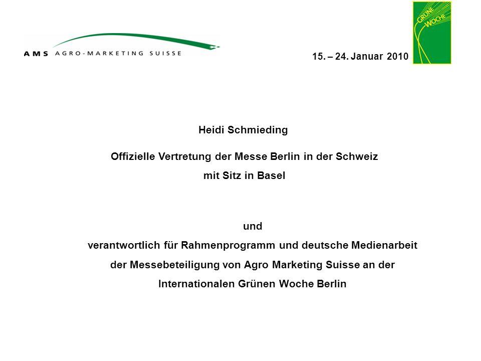 Offizielle Vertretung der Messe Berlin in der Schweiz