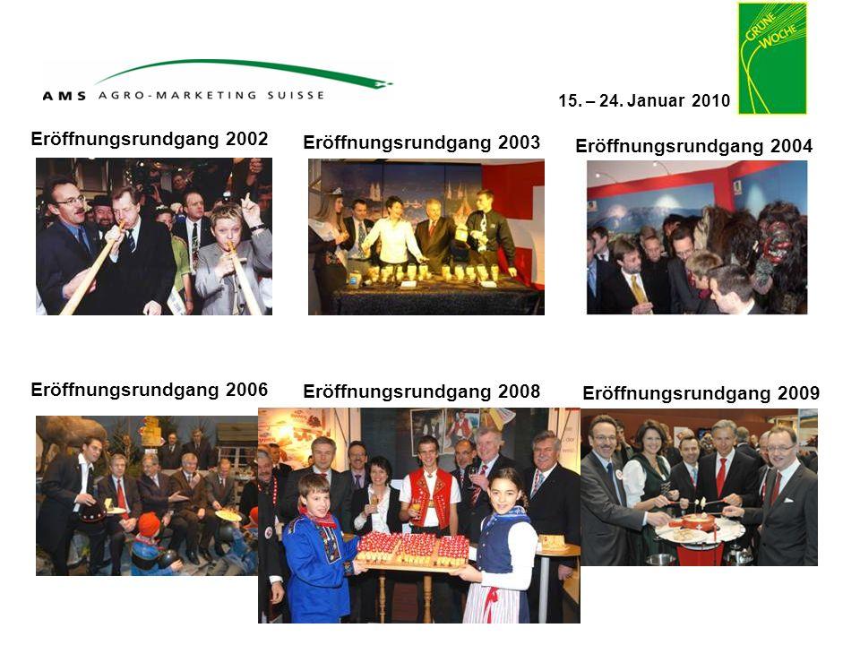 Eröffnungsrundgang 2002 Eröffnungsrundgang 2003. Eröffnungsrundgang 2004. Eröffnungsrundgang 2006.