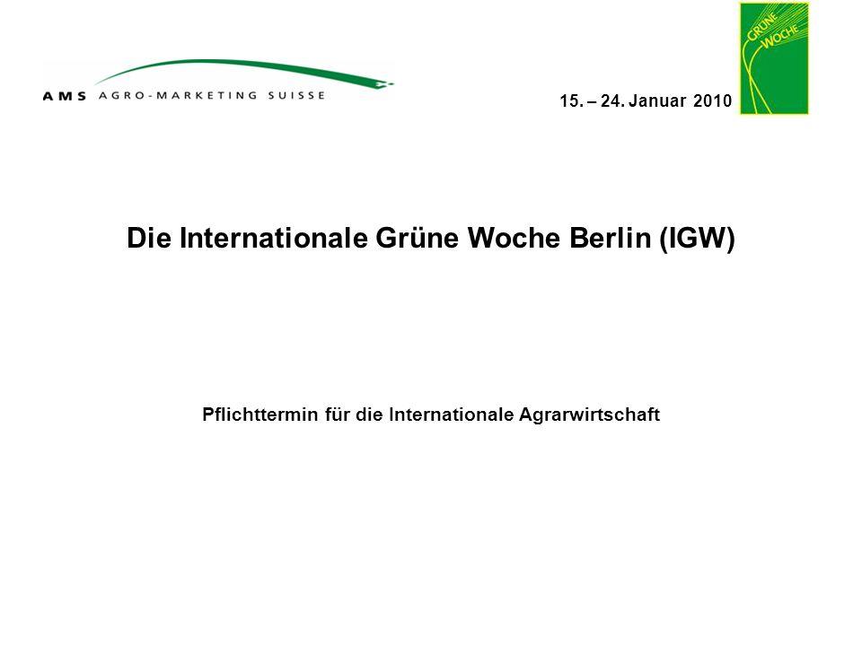 Die Internationale Grüne Woche Berlin (IGW)