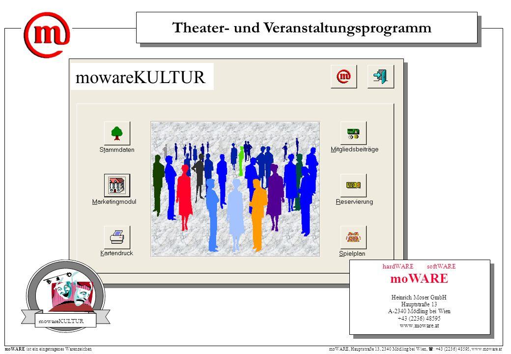 Theater- und Veranstaltungsprogramm