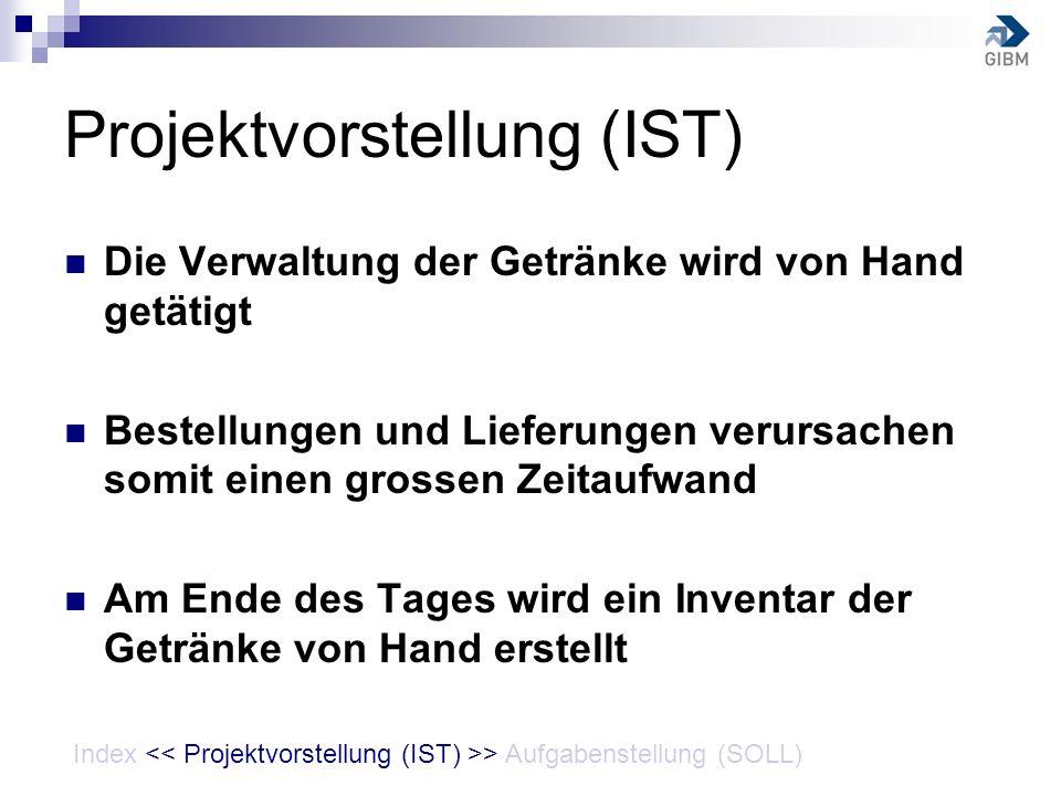 Projektvorstellung (IST)