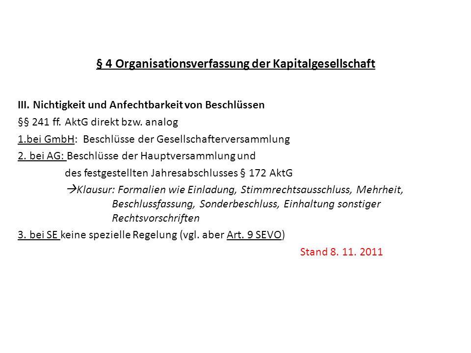 4 organisationsverfassung der kapitalgesellschaft - ppt herunterladen, Einladung