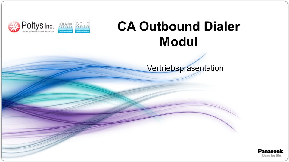 CA Outbound Dialer Modul