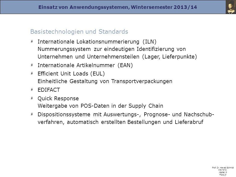 Basistechnologien und Standards