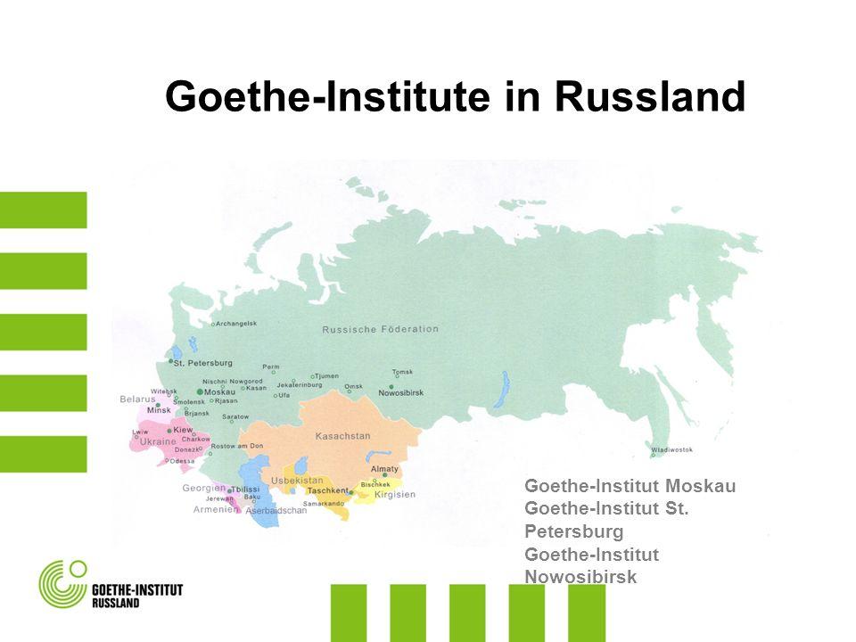 Goethe-Institute in Russland
