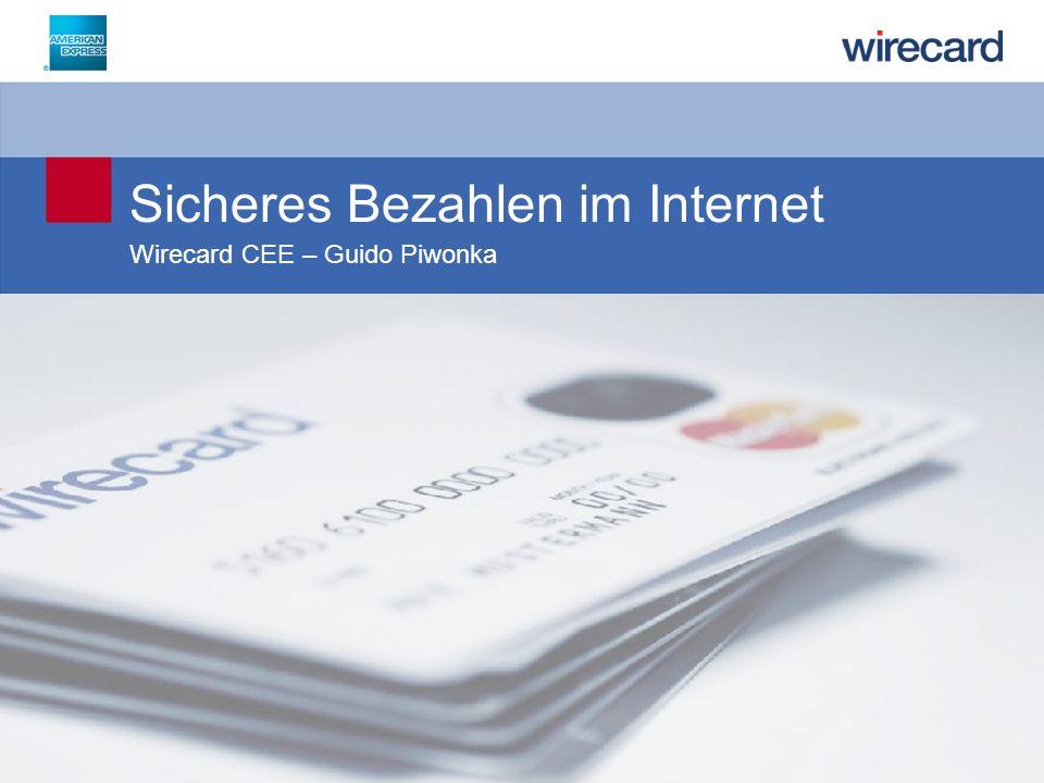 Sicheres Bezahlen im Internet