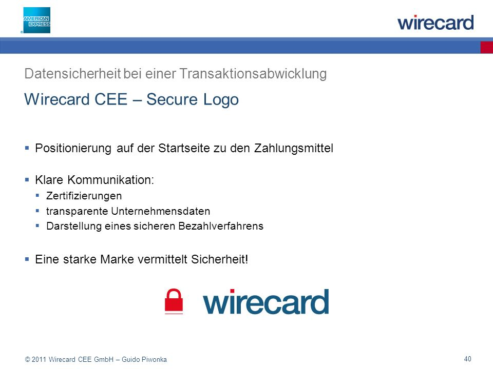 Wirecard CEE – Secure Logo
