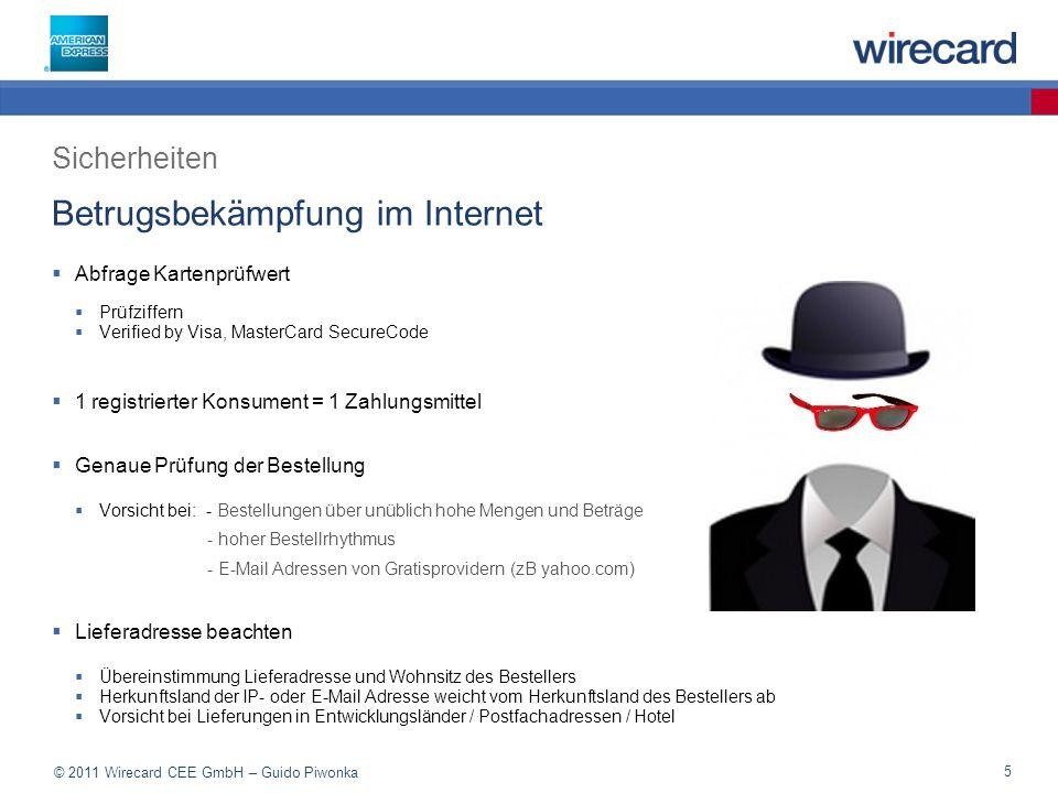 Betrugsbekämpfung im Internet