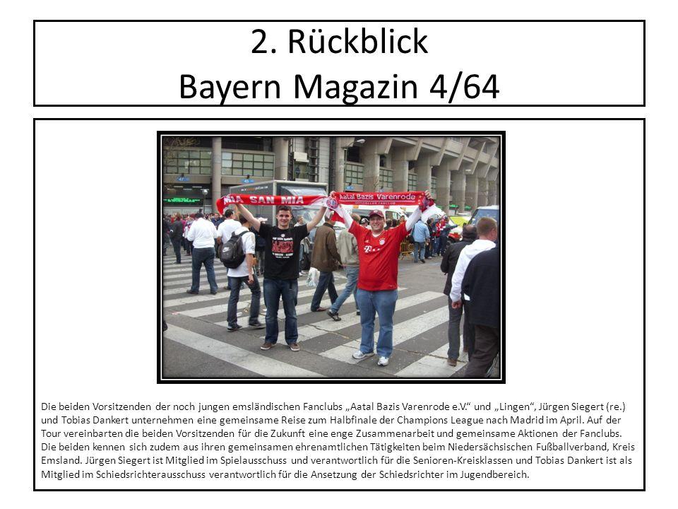 2. Rückblick Bayern Magazin 4/64