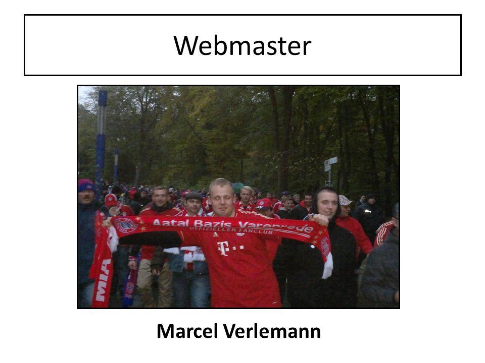 Webmaster Marcel Verlemann