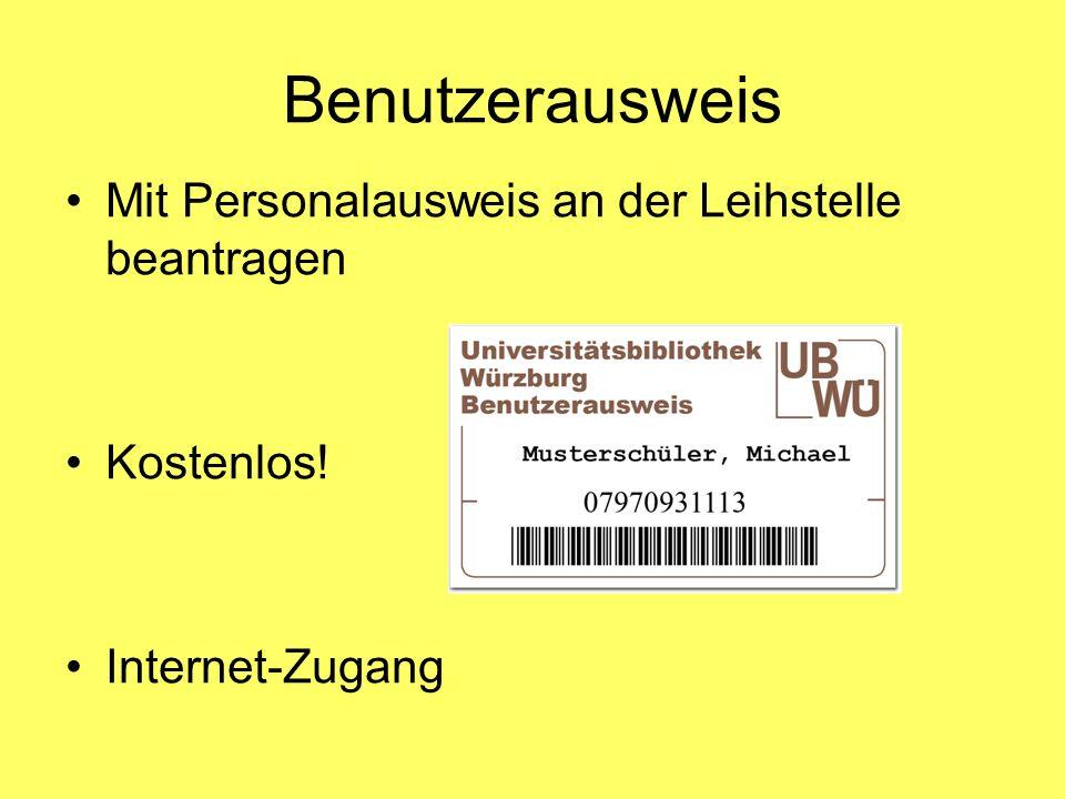 Benutzerausweis Mit Personalausweis an der Leihstelle beantragen