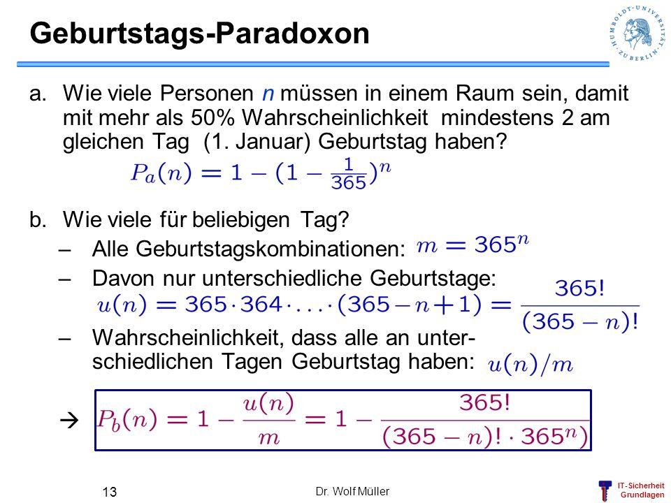 Geburtstags-Paradoxon