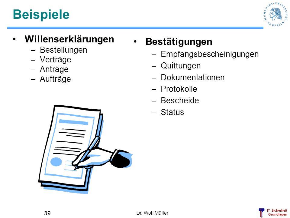 Beispiele Willenserklärungen Bestätigungen Bestellungen