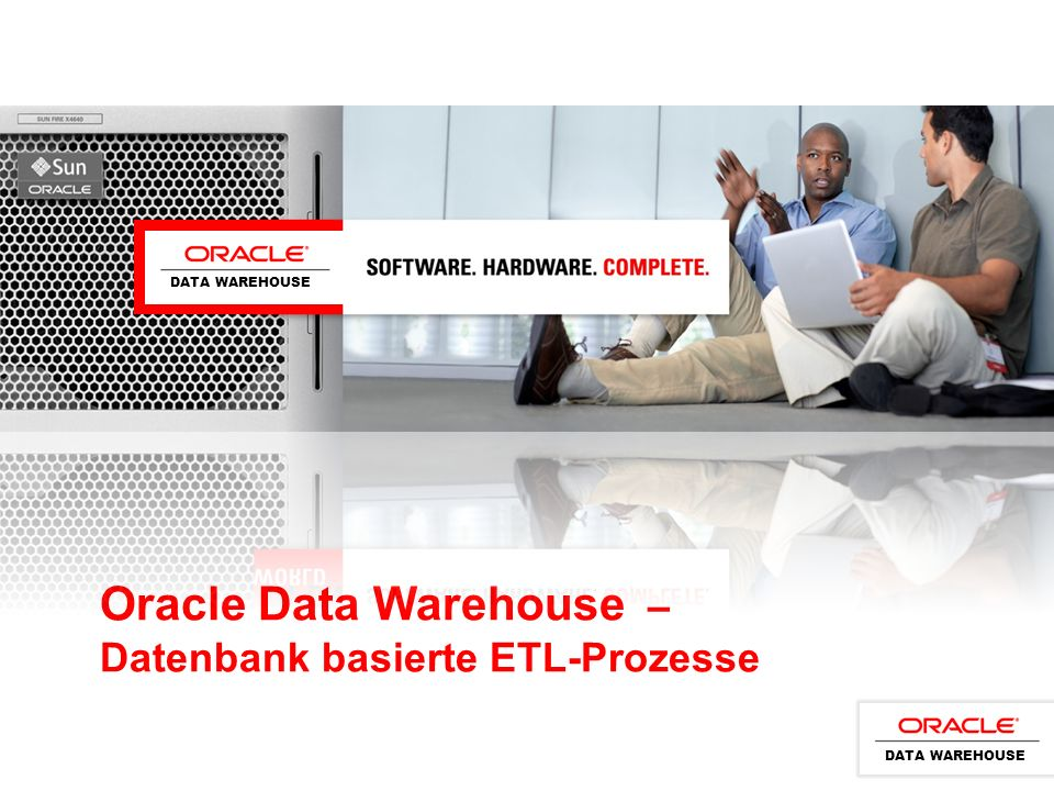 Oracle Data Warehouse – Datenbank basierte ETL-Prozesse