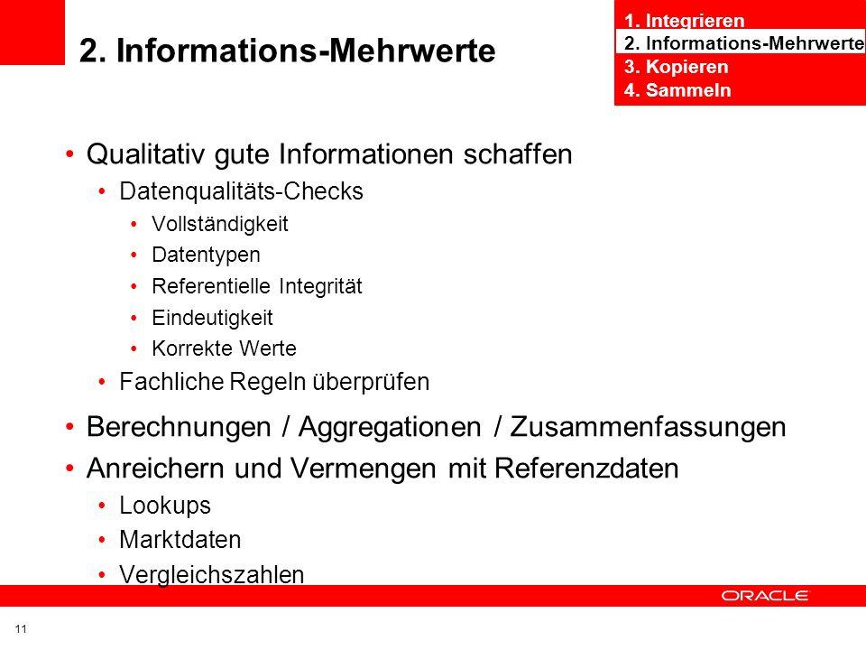 2. Informations-Mehrwerte