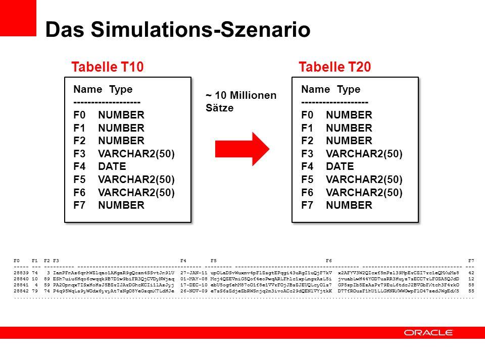 Das Simulations-Szenario