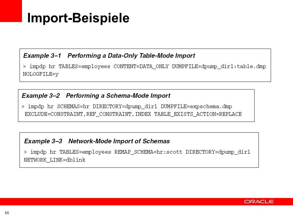 Import-Beispiele 66