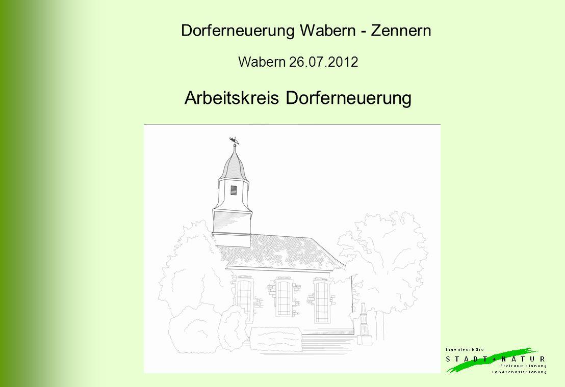 Arbeitskreis Dorferneuerung