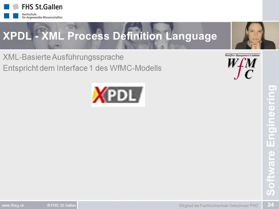 XPDL - XML Process Definition Language