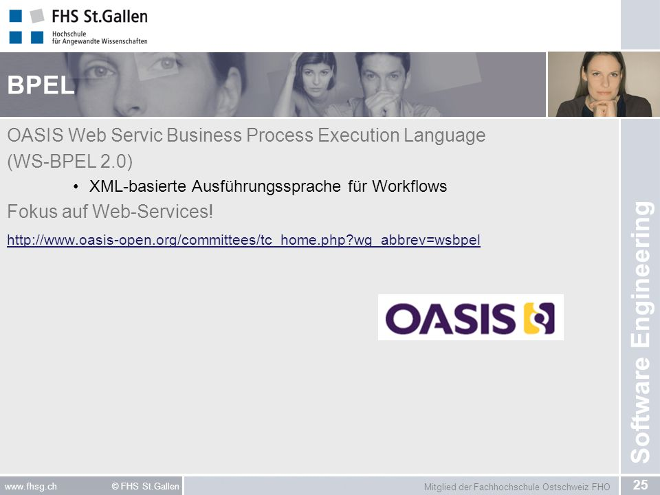BPEL OASIS Web Servic Business Process Execution Language