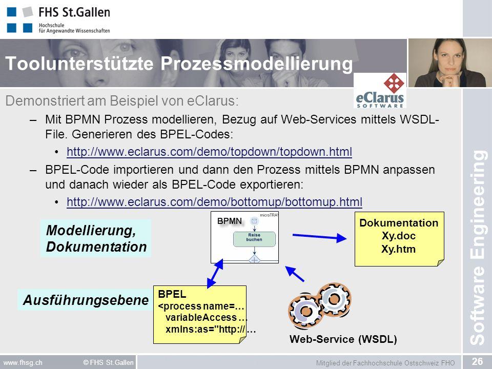 Toolunterstützte Prozessmodellierung