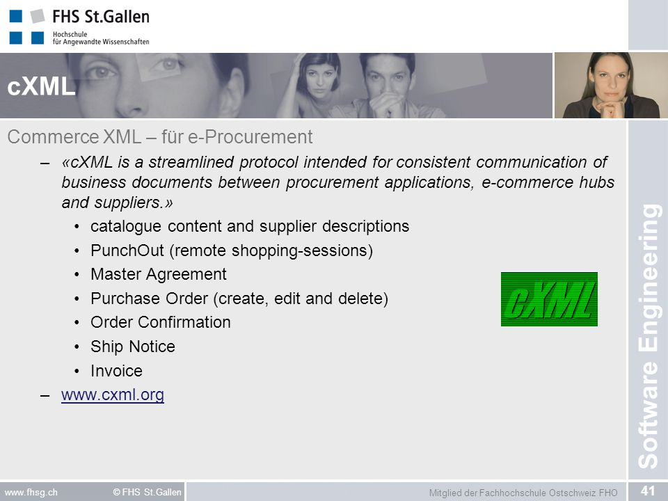 cXML Commerce XML – für e-Procurement