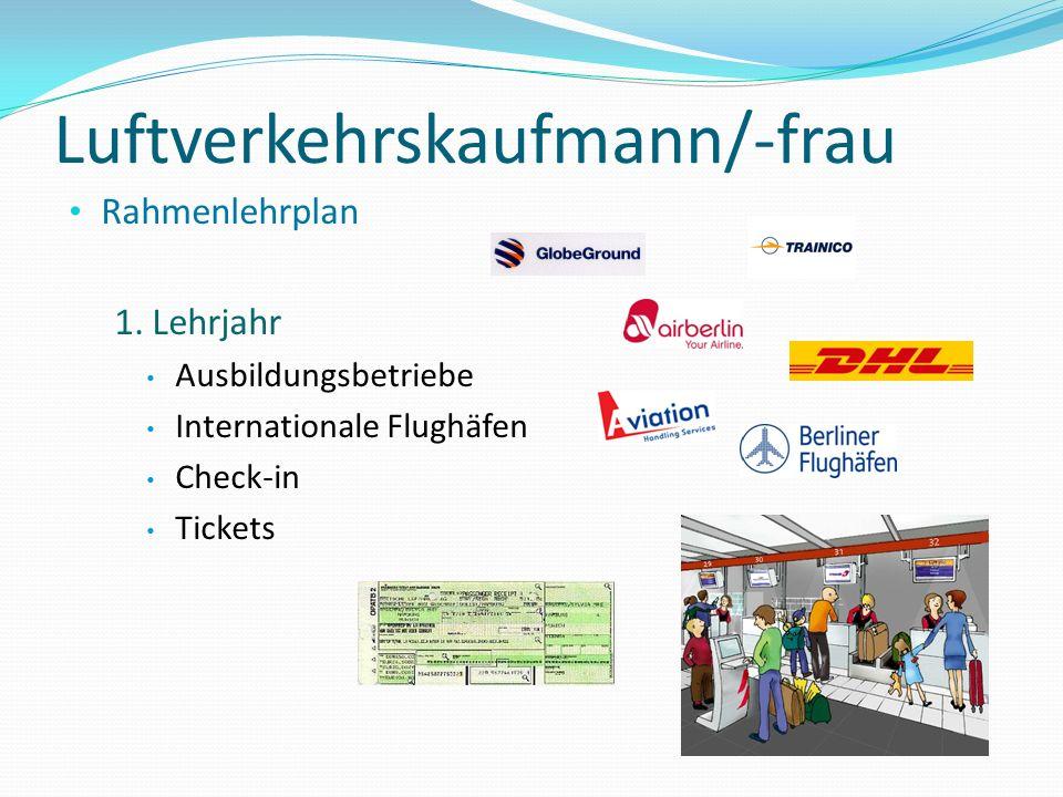 Luftverkehrskaufmann/-frau