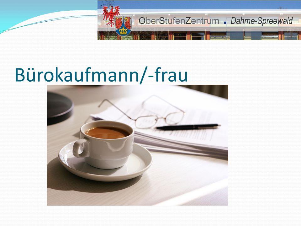 Bürokaufmann/-frau