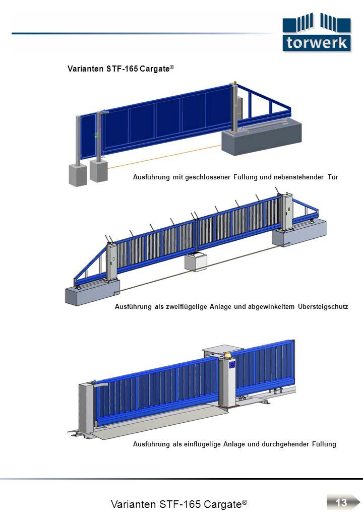 Varianten STF-165 Cargate®