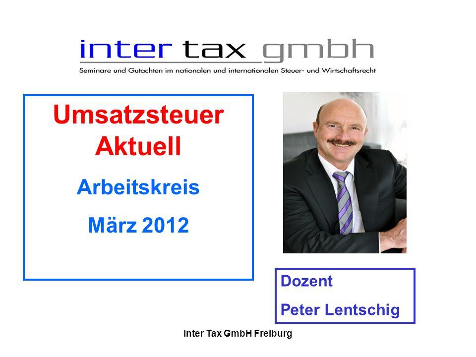 Inter Tax GmbH Freiburg