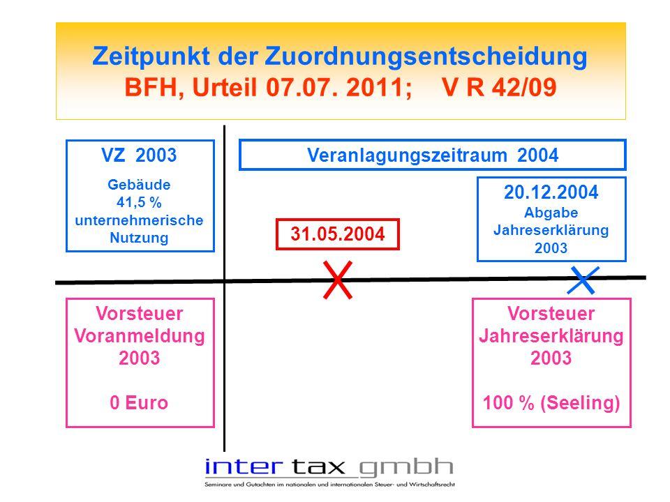 Veranlagungszeitraum 2004