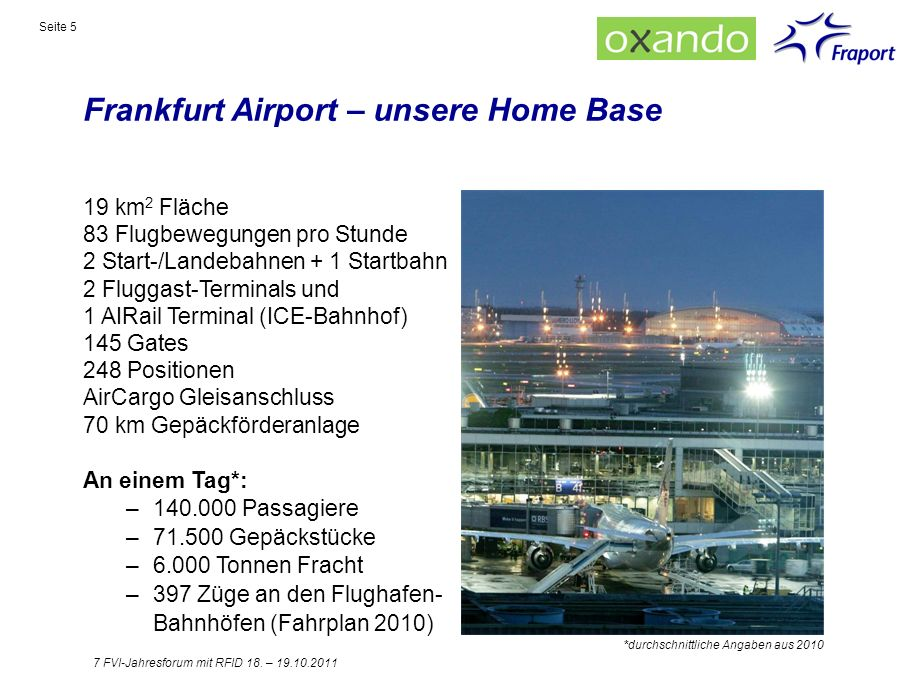 Frankfurt Airport – unsere Home Base