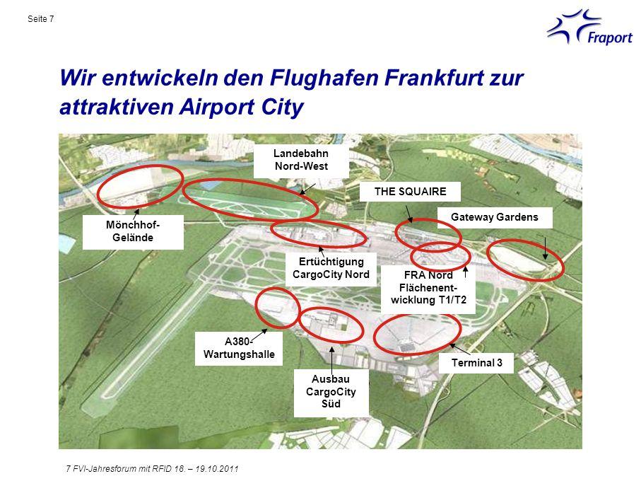Wir entwickeln den Flughafen Frankfurt zur attraktiven Airport City