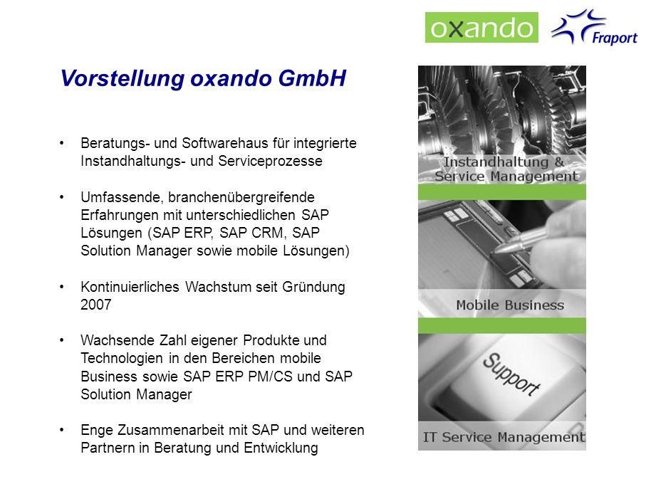 Vorstellung oxando GmbH
