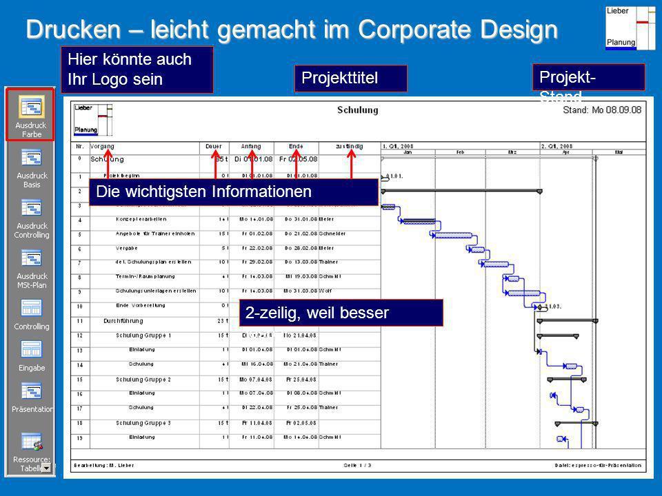 Drucken – leicht gemacht im Corporate Design