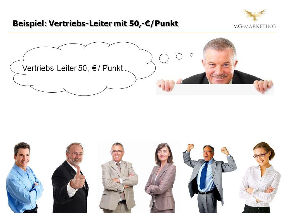 Vertriebs-Leiter 50,-€ / Punkt