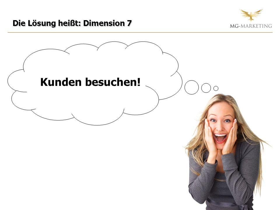 Die Lösung heißt: Dimension 7