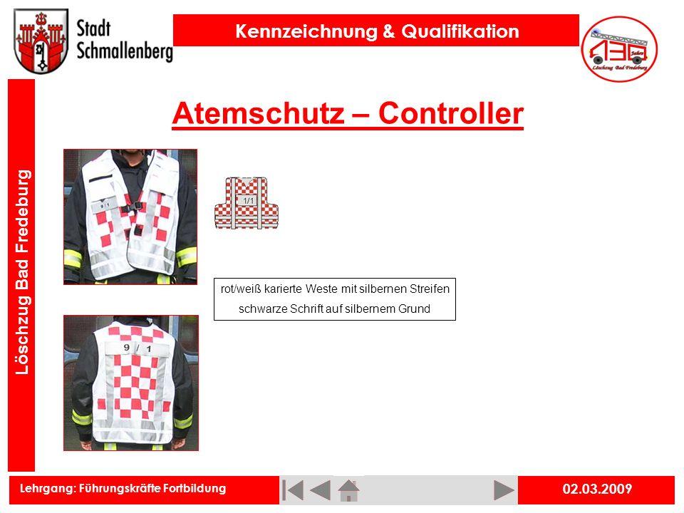 Atemschutz – Controller